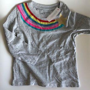 **NEW** Gymboree rainbow 🌈 long sleeve T-shirt